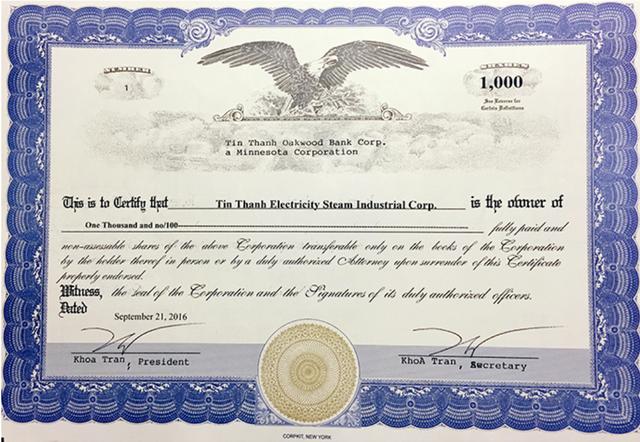 Một doanh nghiệp Việt đã mua ngân hàng 116 năm tuổi của Mỹ - Ảnh 1.