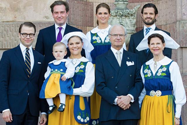 Một gia đình 3 thế hệ ở Thụy Điển