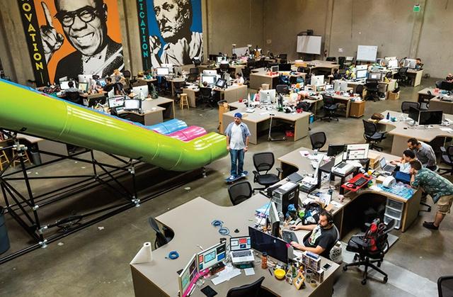 Không gian làm việc tại Silicon Valley, Mỹ