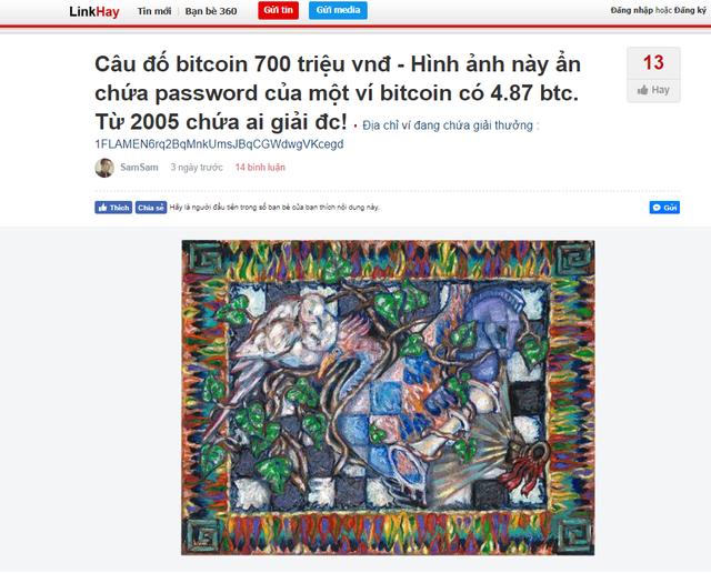Giải được câu đố miễn phí này, bạn sẽ nhận được 4,87 Bitcoin, tương đương gần 800 triệu đồng! - Ảnh 4.