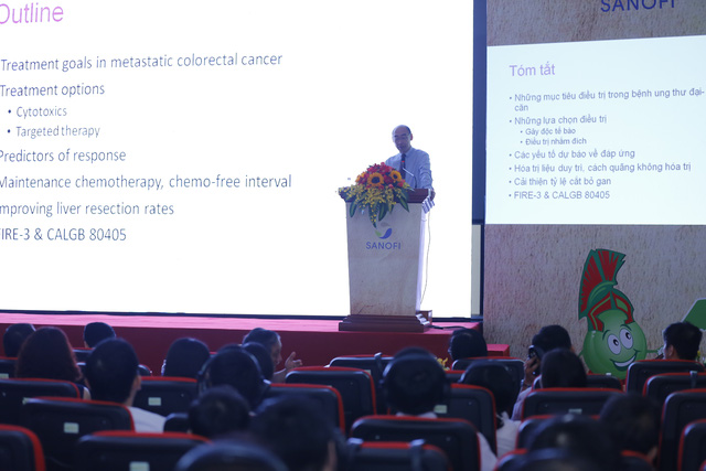 Hội thảo trao đổi các kinh nghiệm về điều trị Ung thư vú và Ung thư đại trực tràng