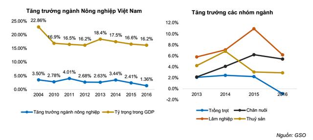 6 điểm nhấn lớn trong bức tranh ngành nông nghiệp Việt Nam - Ảnh 1.