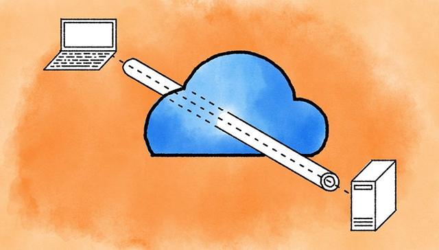 VPN giống như 1 đường hầm giúp bạn an toàn trên Internet.