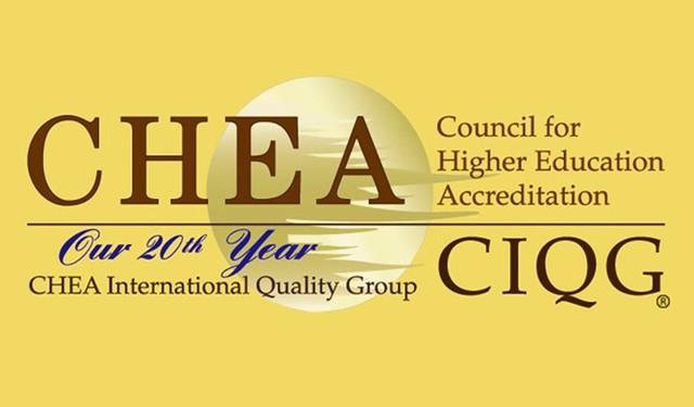 CHEA là cơ quan có quyền công nhận các trung tâm kiểm định chất lượng uy tín. Ảnh chụp màn hình.
