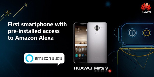 Xin chào, Alexa của Huawei.