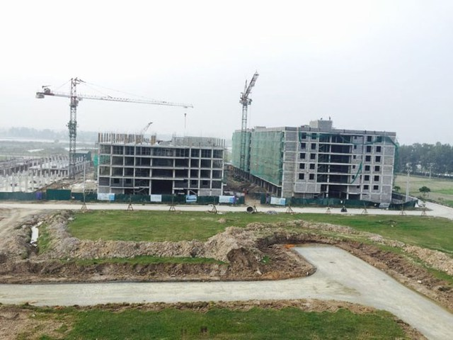 Lần đầu tiên một dự án nhà giá rẻ của Tập đoàn Mường Thanh bị khách hàng thờ ơ vì xa trung tâm. Ảnh dự án Thanh Hà, quận Hà Đông của Tập đoàn Mường Thanh.