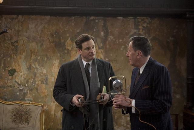 Hình ảnh nhà vua nói lắp được tái hiện qua bộ phim The King's Speech