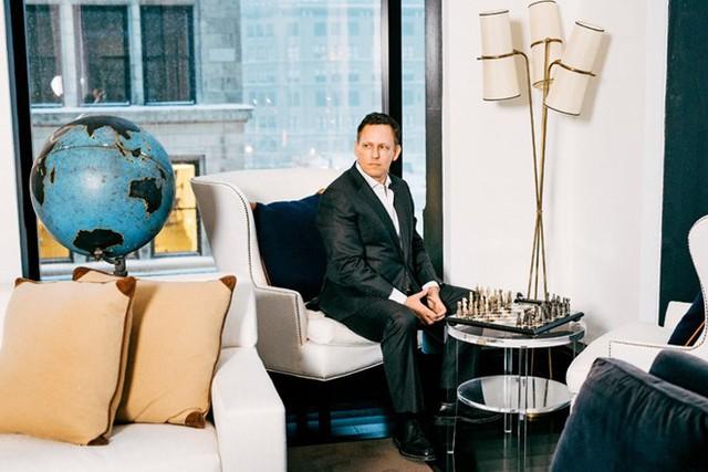Peter Thiel – một trong những người ủng hộ trung thành của Tổng thống Donald Trump tại khu căn hộ cao cấp trên Union Square ở Manhattan. Ảnh: The NewYork Times.