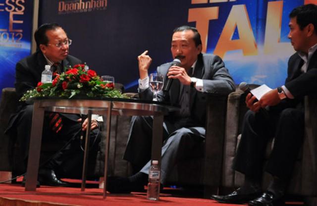 Vincent Tan kinh doanh từ hai bàn tay trắng