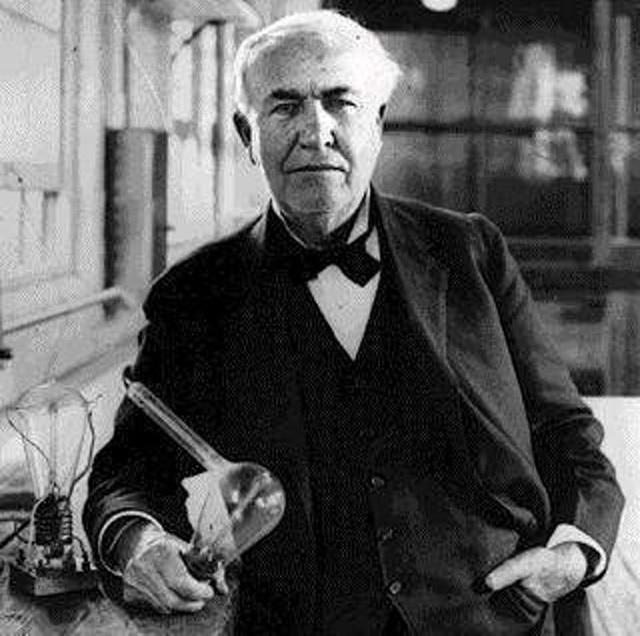 Thomas Edison - nhà phát minh đại tài người Mỹ