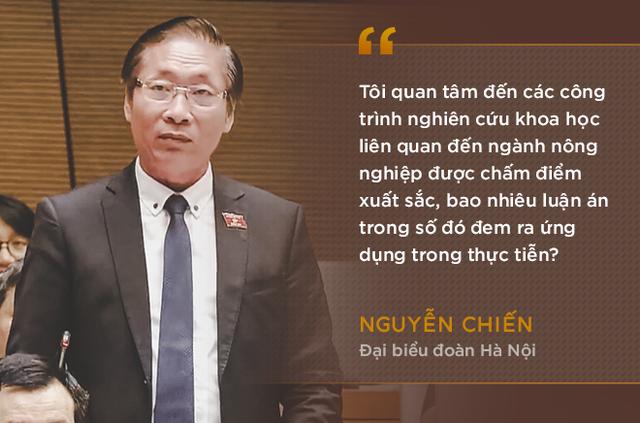 Những phát ngôn ấn tượng nhất trong phiên chất vấn đầu tiên của Bộ trưởng Nguyễn Xuân Cường - Ảnh 1.