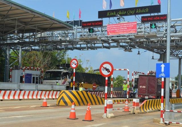 Trạm thu phí BOT Toàn Mỹ - Băng Dương trên một số con phố Hồ Chí Minh (đoạn qua huyện Đắk Mil, tỉnh Đắk Nông) Ảnh: CAO NGUYÊN
