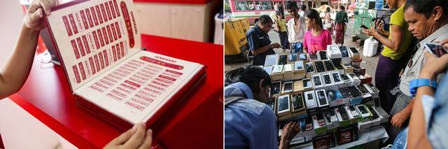 Thị trường Smartphone Myanmar
