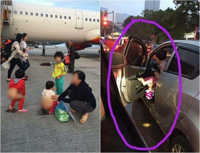Những hình ảnh xấu xí trên đường phố gây phản cảm. Nguồn: Facebook.