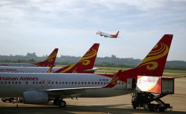 Máy bay của hãng HNA