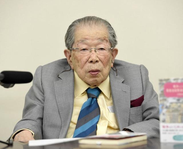 Ông Hinohara hồi năm 2015.