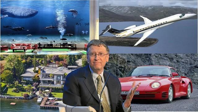 Gu chơi xe lạ của những người giàu nhất thế giới - Ảnh 1.