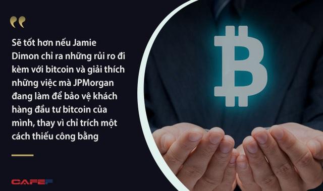 Mạnh miệng tuyên bố bitcoin là trò lừa đảo nhưng CEO JPMorgan đã mắc sai lầm cơ bản về suy luận? - Ảnh 1.