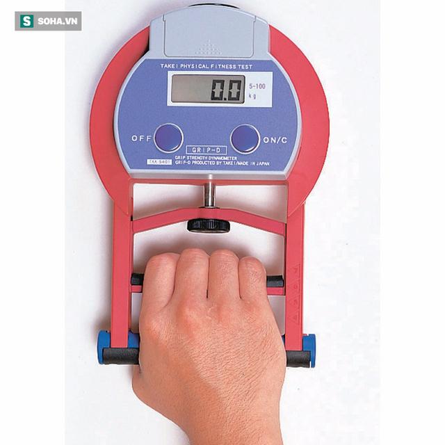 Nếu có máy đo lực nắm, bạn hãy thử xem sức nắm của mình được bao nhiêu (Ảnh minh họa)