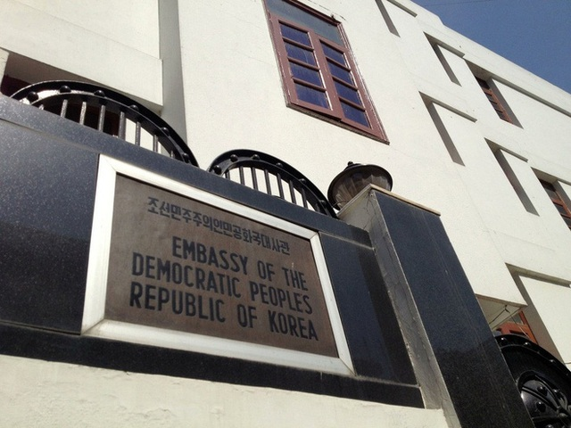 Đại sứ quán Triều Tiên ở Ấn Độ. Ảnh: Quora