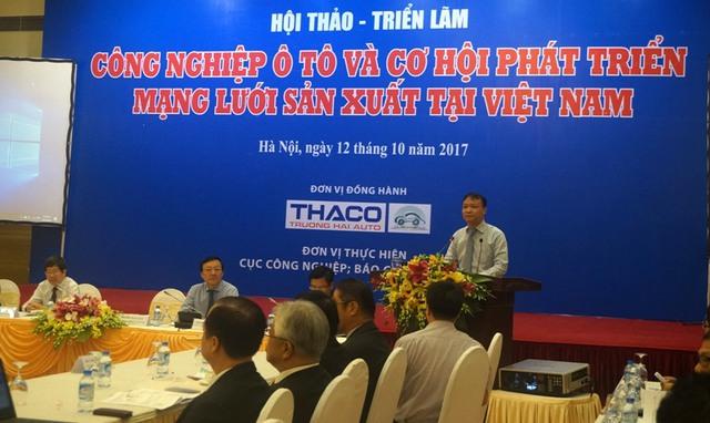 Thứ trưởng Bộ Công Thương: Chỉ có những doanh nghiệp đủ lớn mới kéo theo sự phát triển của ngành công nghiệp ô tô - Ảnh 1.
