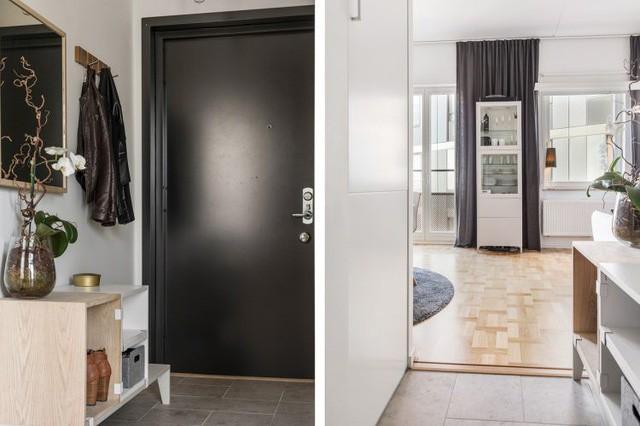 Mở cửa bước vào căn hộ này, điều mà bất kỳ ai cũng có thể dễ dàng nhận ra đó là một tổ ấm đẹp, gọn và tràn ngập ánh sáng tự nhiên.