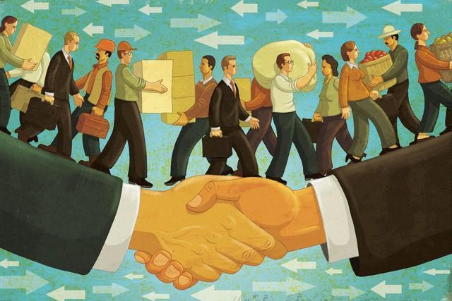 Toàn cầu hóa, di cư và siêu quyền lực của mhững tập đoàn đa quốc gia - Ảnh 1.