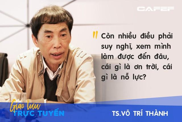 Ông Trương Văn Phước: Tôi có sự so sánh ẩn dụ về tăng trưởng của GDP với điểm số của một cậu học trò nghèo - Ảnh 1.