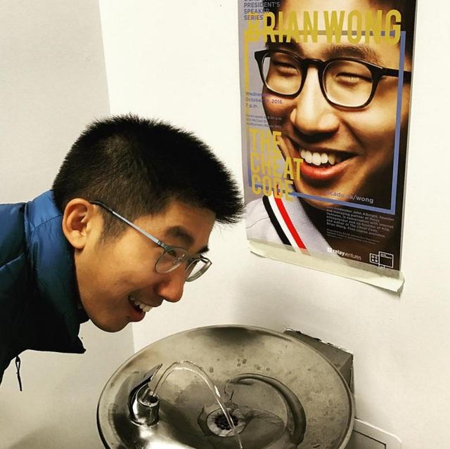Wong luôn bắt mình phải động não trong mọi hoàn cảnh
