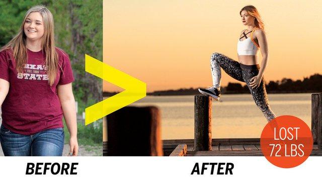Meghan sau khi giảm cân thành công đã trở nên xinh đẹp hơn