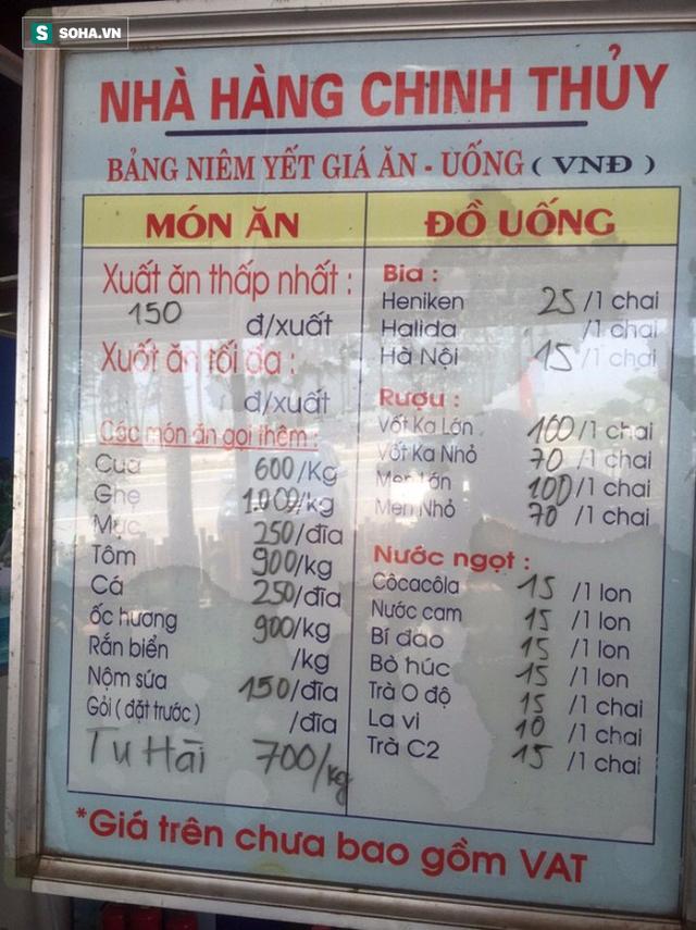 Nhà hàng ở Sầm Sơn nói về việc bị tố chặt chém giá ghẹ 1 triệu đồng/kg - Ảnh 2.