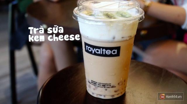 Trà sữa kem cheese ra mắt tại Hà Nội với tên gọi Royal tea, cơ sở đầu tiên tại Thái Phiên từng gây sốt đối với giới trẻ Hà Nội.
