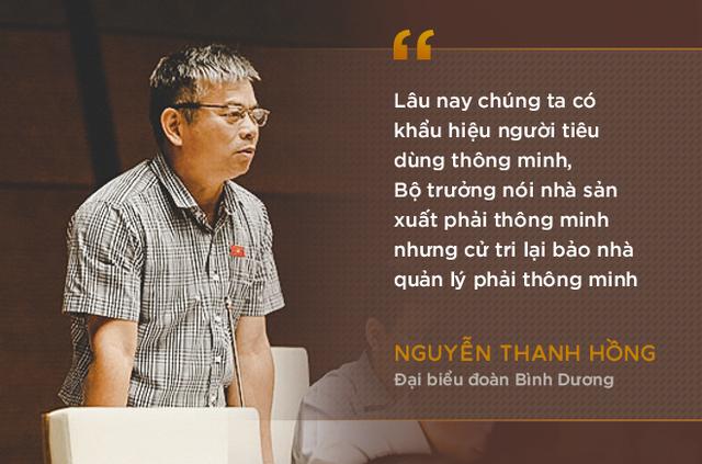 Những phát ngôn ấn tượng nhất trong phiên chất vấn đầu tiên của Bộ trưởng Nguyễn Xuân Cường - Ảnh 2.
