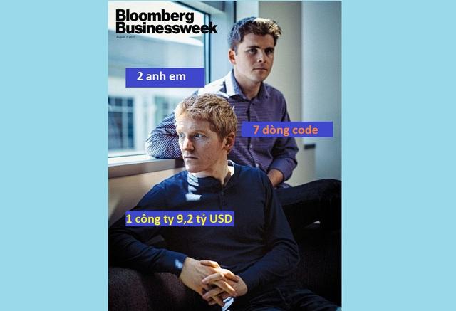 2 anh em biến 7 dòng code thành công ty 9,2 tỷ USD - Ảnh 1.