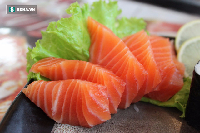 Cá hồi giàu omega-3 giảm huyết áp ngăn chặn sự hình thành cục máu đông