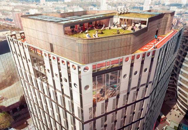 Văn phòng mới siêu đẹp của Adobe sẽ khiến KH muốn được làm việc ở đấy dù chỉ 1 lần - Ảnh 1.