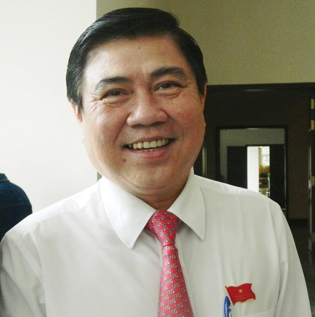 Ông Nguyễn Thành Phong, Chủ tịch UBND TPHCM.