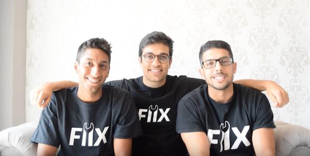 3 nhà sáng lập trẻ tuổi của Fiix