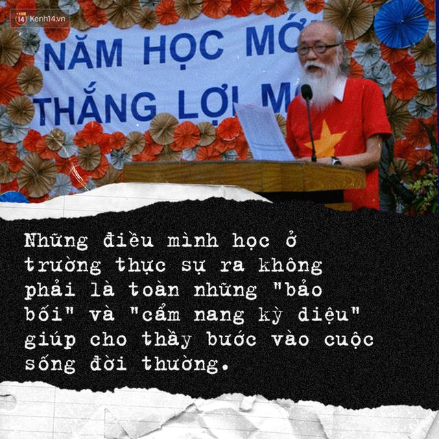 Sau 2 năm, bài phát biểu xúc động của thầy Văn Như Cương tại lễ khai giảng bất ngờ được chia sẻ lại - Ảnh 2.