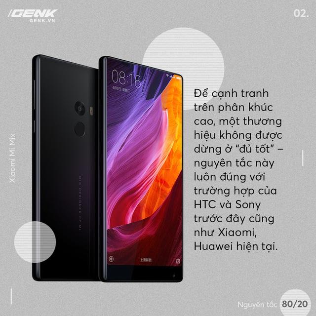 Định luật Pareto: Vì sao Huawei, Xiaomi, OPPO không có cửa cạnh tranh với Samsung ở phân khúc cao cấp - Ảnh 2.