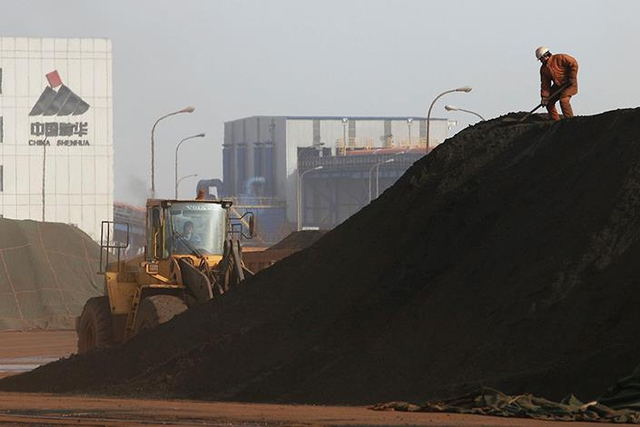 Khu vực khai thác than của tập đoàn Shenhua.