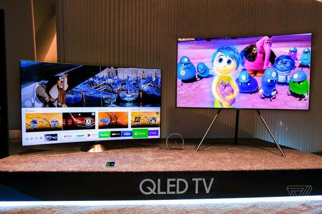 """Dòng TV QLED của Samsung đang phất lên như """"diều gặp gió"""" trên thị trường cao cấp - Ảnh 1."""