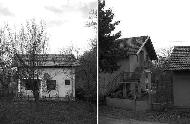 Cải tạo nhà cấp 4 cũ kĩ, hoang tàn thành ngôi nhà đẹp bình yên và thơ mộng - Ảnh 1.