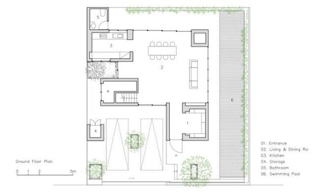 Báo Mỹ ngỡ ngàng với ngôi nhà tràn ngập cây xanh tuyệt đẹp giữa lòng Sài Gòn - ảnh 12