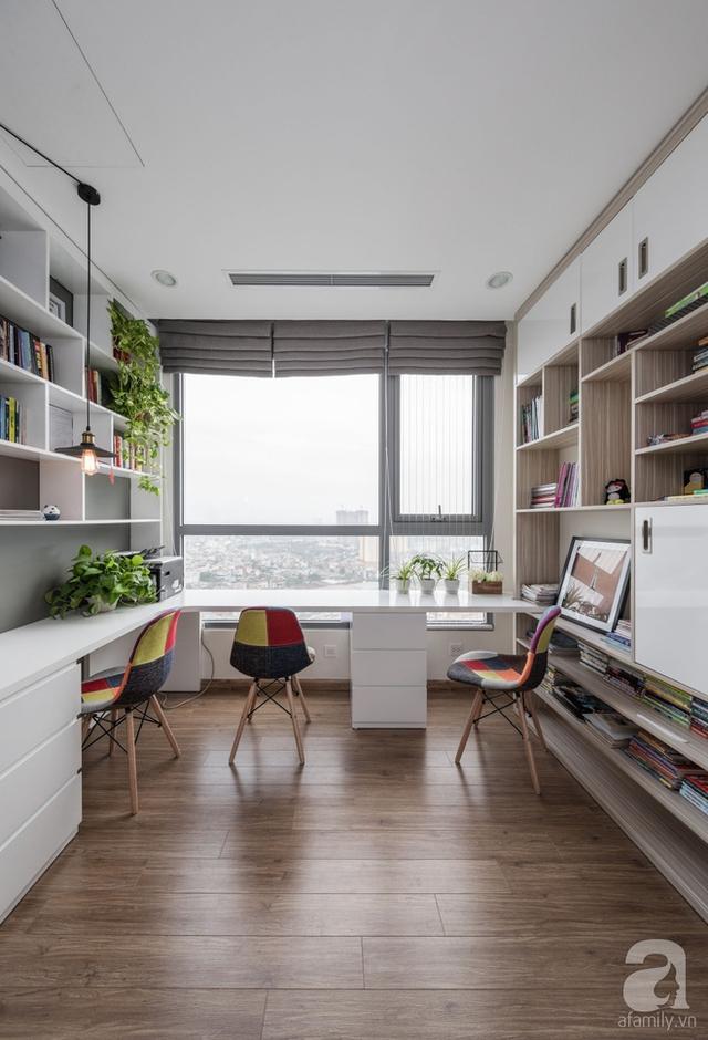 Không gian mơ ước trong căn hộ 143m² có chi phí 310 triệu đồng của gia đình 7 người ở Hà Nội - Ảnh 11.