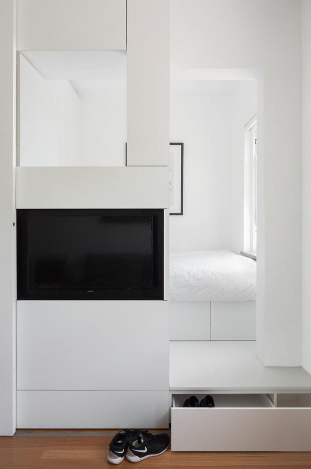 Căn hộ vỏn vẹn 27m² trên tầng 20 của vợ chồng trẻ tuy nhỏ nhưng khiến ai cũng ao ước - Ảnh 11.