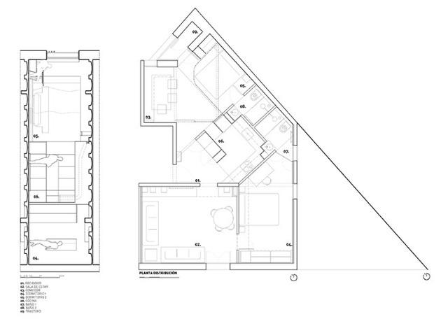 Được thay cửa và tường bằng gương, căn nhà cũ thay đổi không ngờ - Ảnh 12.