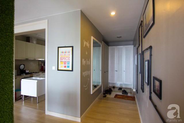 Căn hộ 83m² thoáng mát và ấn tượng với chi phí thi công 100 triệu đồng ở Hà Nội - Ảnh 12.