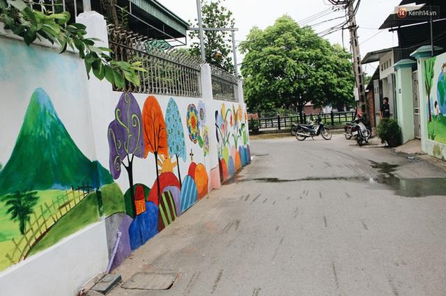 Đâu cần đến Quảng Nam mới có làng bích họa, ngay Hà Nội giờ cũng có con đường được vẽ đẹp mê ly - Ảnh 13.