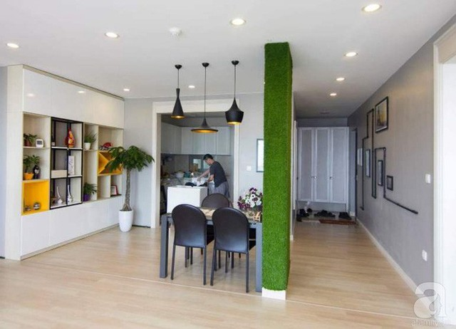 Căn hộ 83m² thoáng mát và ấn tượng với chi phí thi công 100 triệu đồng ở Hà Nội - Ảnh 13.